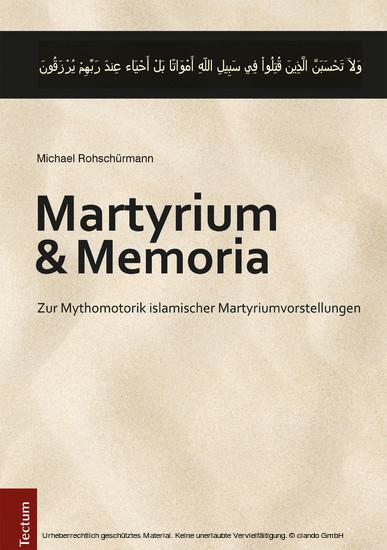 Martyrium und Memoria - Blick ins Buch