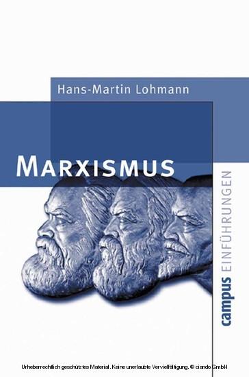 Marxismus - Blick ins Buch