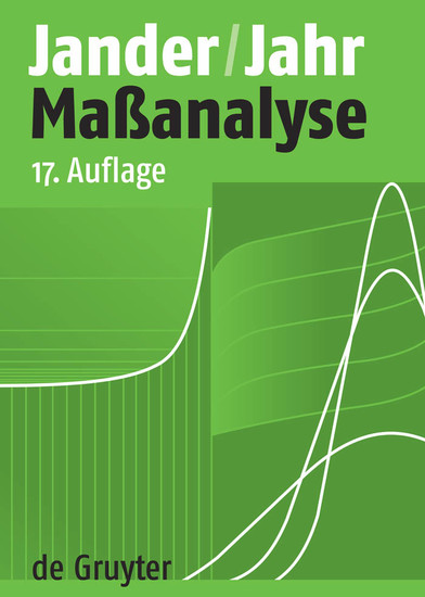 Maßanalyse - Blick ins Buch