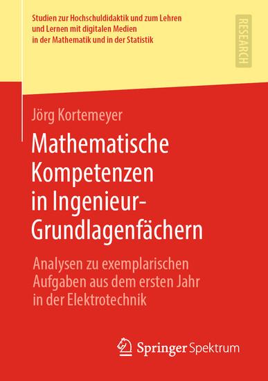 Mathematische Kompetenzen in Ingenieur-Grundlagenfächern - Blick ins Buch