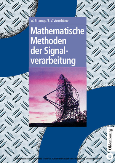 Mathematische Methoden der Signalverarbeitung - Blick ins Buch