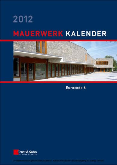Mauerwerk Kalender 2012 - Blick ins Buch
