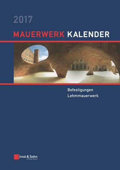 Mauerwerk Kalender 2017 - Blick ins Buch