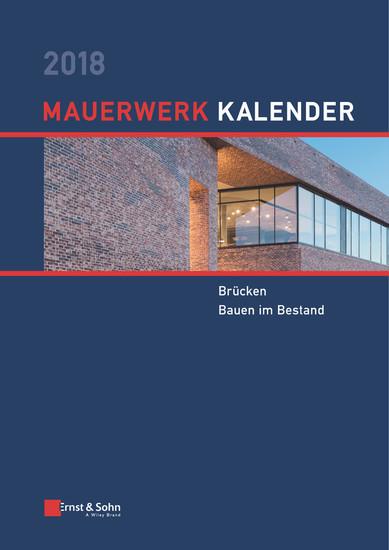 Mauerwerk Kalender 2018 - Blick ins Buch