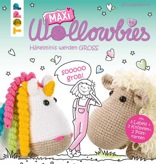 MAXI Wollowbies - Blick ins Buch