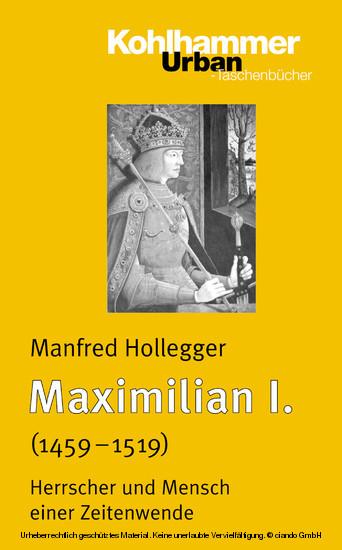 Maximilian I. - Blick ins Buch