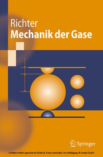 Mechanik der Gase - Blick ins Buch