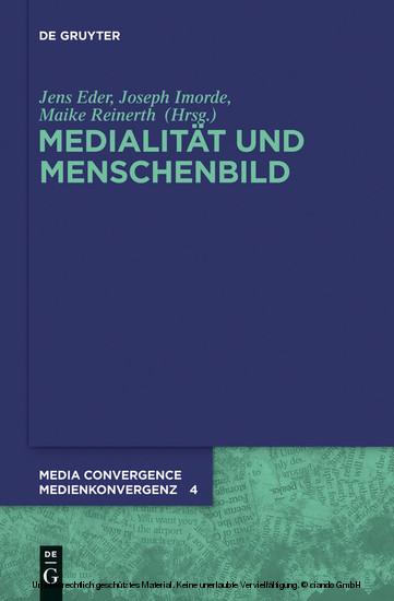 Medialität und Menschenbild - Blick ins Buch
