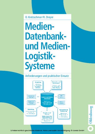 Medien-Datenbank- und Medien-Logistik-Systeme - Blick ins Buch