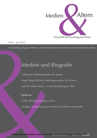 Medien und Biografie - Blick ins Buch