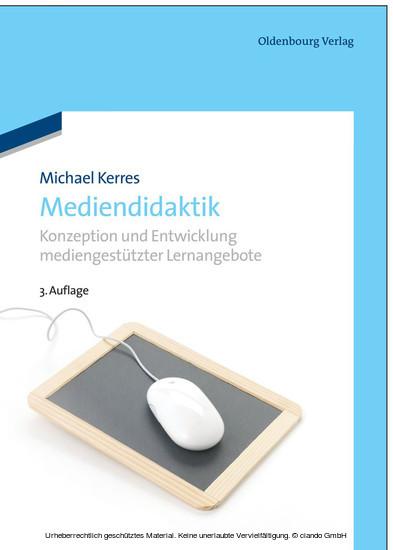 Mediendidaktik - Blick ins Buch