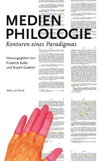 Medienphilologie - Blick ins Buch
