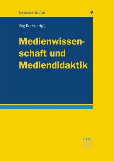 Medienwissenschaft und Mediendidaktik - Blick ins Buch