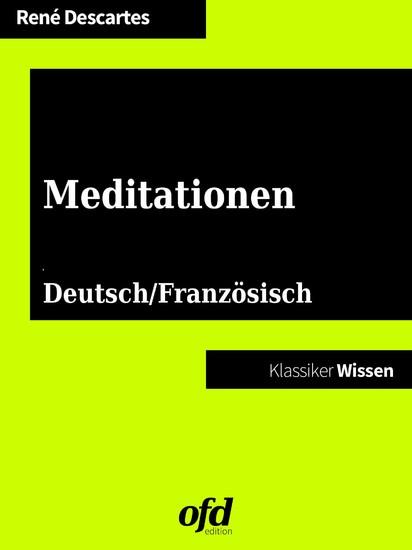 Meditationen - Méditations métaphysiques - Blick ins Buch