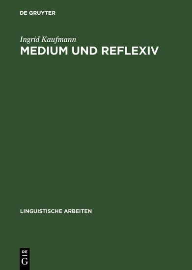 Medium und Reflexiv - Blick ins Buch
