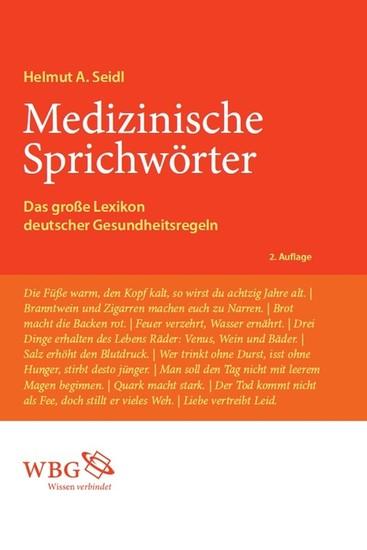 Medizinische Sprichwörter - Blick ins Buch