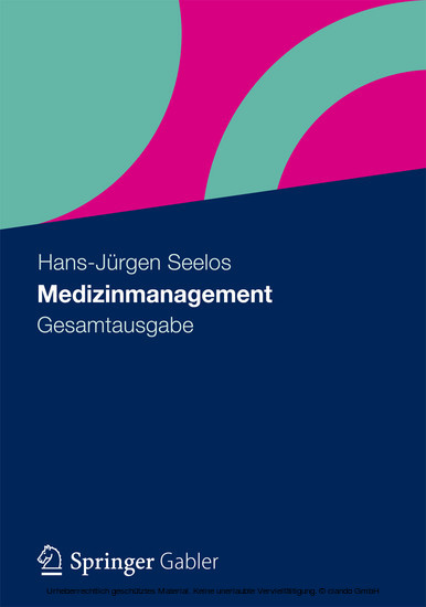 Medizinmanagement - Blick ins Buch
