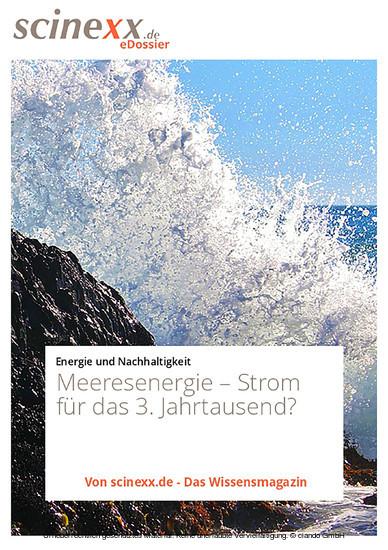 Meeresenergie - Blick ins Buch