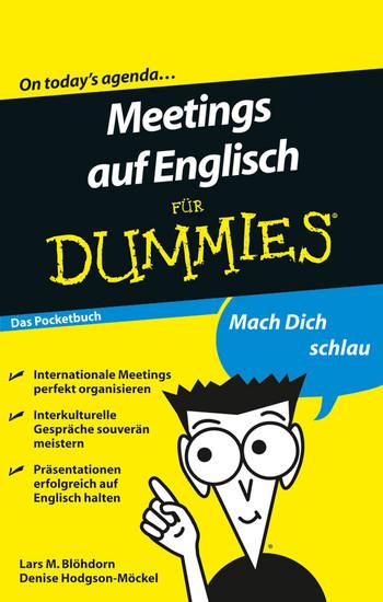 Meetings auf Englisch für Dummies - Blick ins Buch