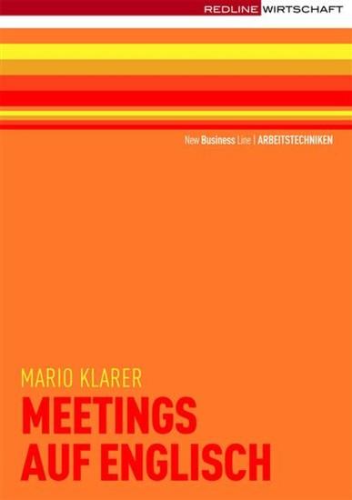 Meetings auf englisch - Blick ins Buch