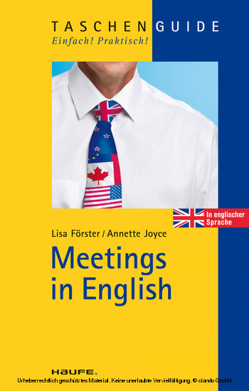 Meetings in English - Blick ins Buch