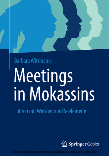 Meetings in Mokassins - Blick ins Buch