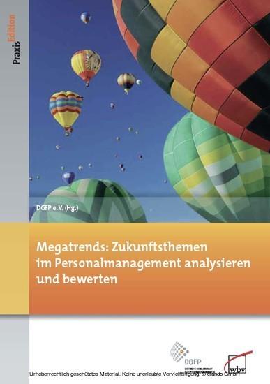 Megatrends: Zukunftsthemen im Personalmanagement analysieren und bewerten - Blick ins Buch