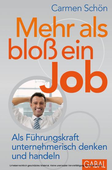 Mehr als bloß ein Job - Blick ins Buch