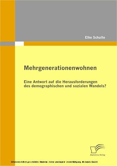 Mehrgenerationenwohnen - Blick ins Buch