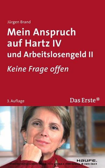 Mein Anspruch auf Hartz IV und Arbeitslosengeld II. ARD Buffet - Blick ins Buch