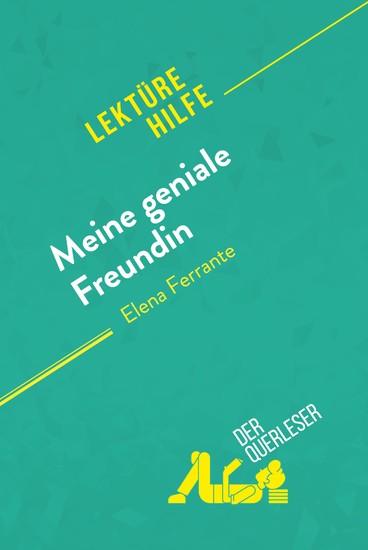 Meine geniale Freundin von Elena Ferrante (Lektürehilfe) - Blick ins Buch