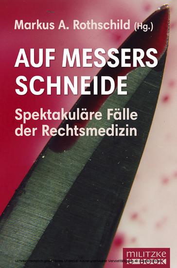Auf Messers Schneide - Blick ins Buch