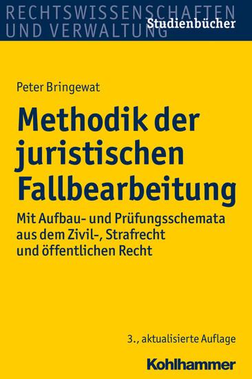 Methodik der juristischen Fallbearbeitung - Blick ins Buch