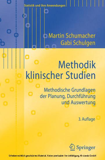 Methodik klinischer Studien - Blick ins Buch