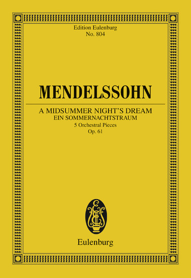 A Midsummer Night's Dream - Blick ins Buch