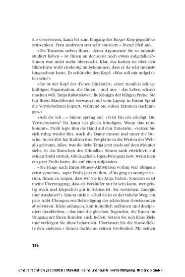 Mission Profit - Blick ins Buch