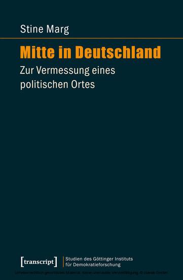 Mitte in Deutschland - Blick ins Buch