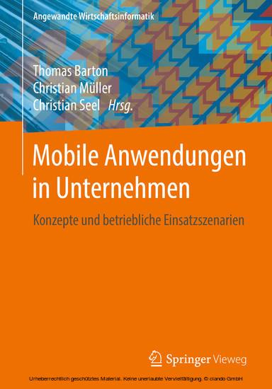 Mobile Anwendungen in Unternehmen - Blick ins Buch