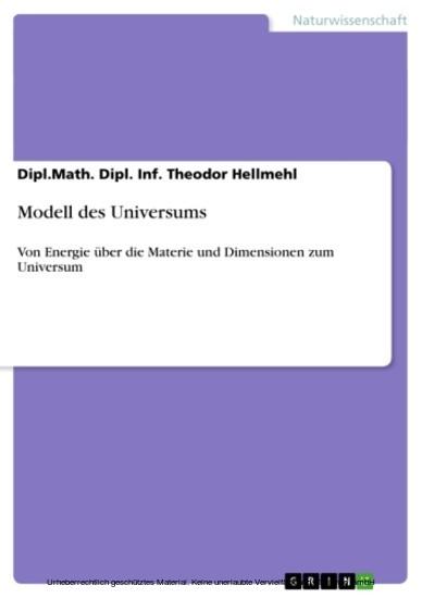 Modell des Universums - Blick ins Buch