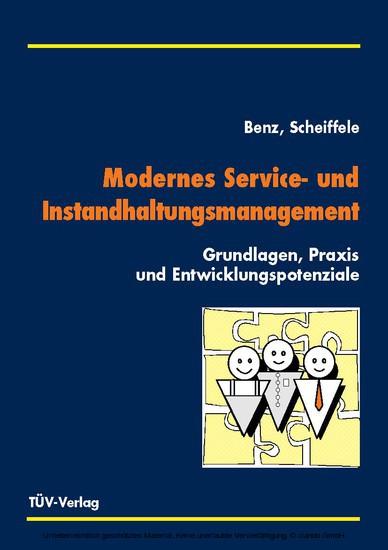 Modernes Service- und Instandhaltungsmanagement - Blick ins Buch