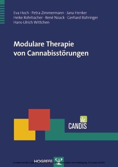 Modulare Therapie von Cannabisstörungen - Blick ins Buch