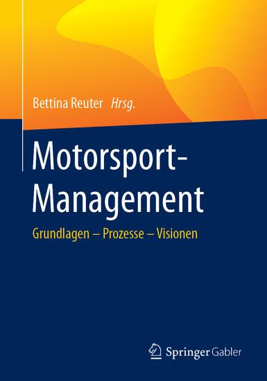 Motorsport-Management - Blick ins Buch