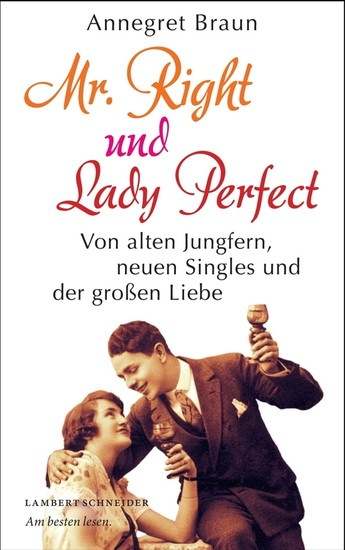Mr. Right und Lady Perfect - Blick ins Buch