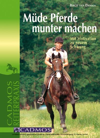 Müde Pferde munter machen - Blick ins Buch