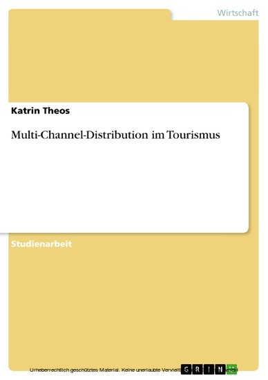 Multi-Channel-Distribution im Tourismus - Blick ins Buch