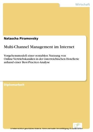 Multi-Channel Management im Internet - Blick ins Buch