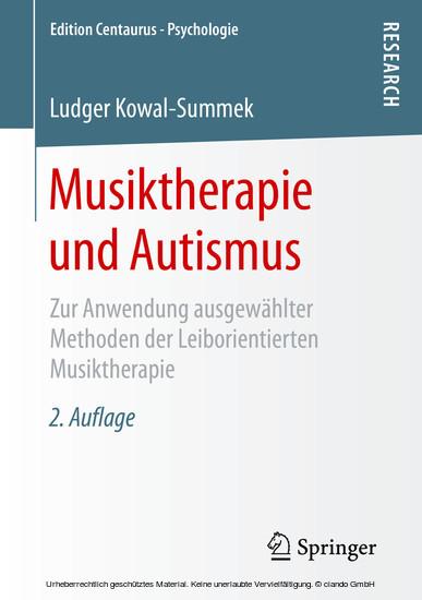 Musiktherapie und Autismus - Blick ins Buch