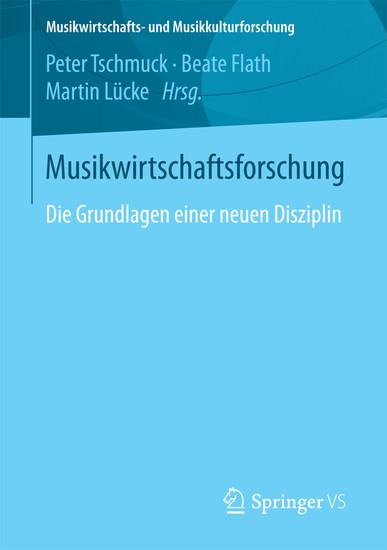 Musikwirtschaftsforschung - Blick ins Buch