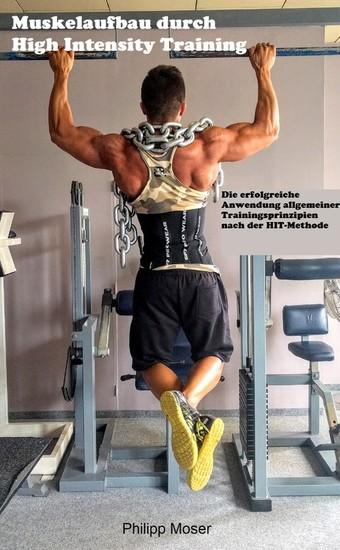 Muskelaufbau durch High Intensity Training - Blick ins Buch