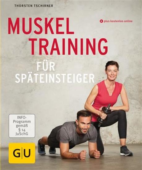 Muskeltraining für Späteinsteiger - Blick ins Buch
